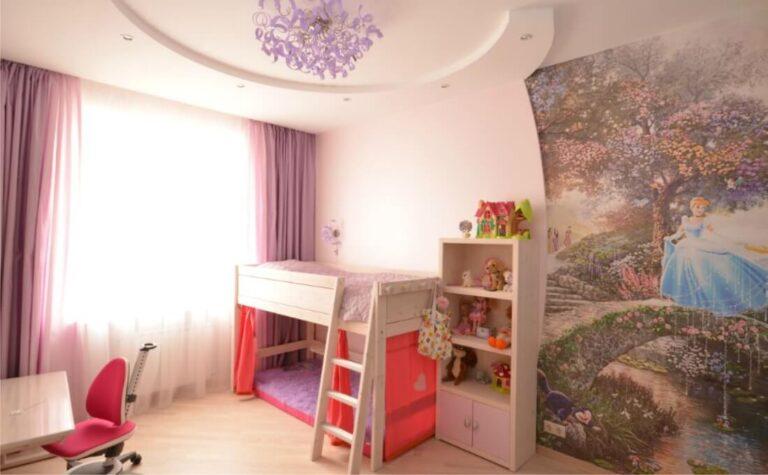 Ремонт в детской в Санкт-Петербурге